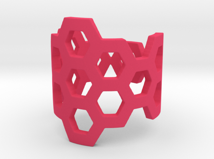 Polyaromatic Hydrocarbon Ring (Size 5.5) 3d printed