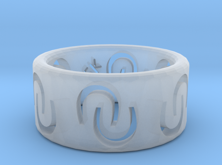 Ring of luck 3d printed