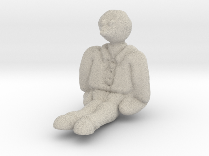 Moley from wind in the willows 3d printed