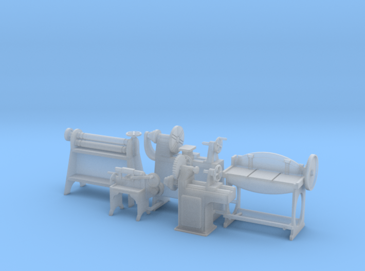 Small Metal Working Machinery Collection S Scale 3d printed
