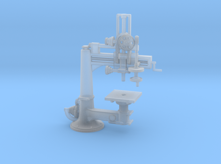 Radial Drill Press S Scale 3d printed