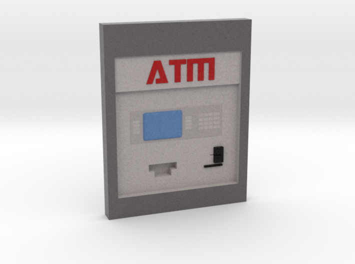 "Contemporary ATM for 7"" Figures 3d printed"