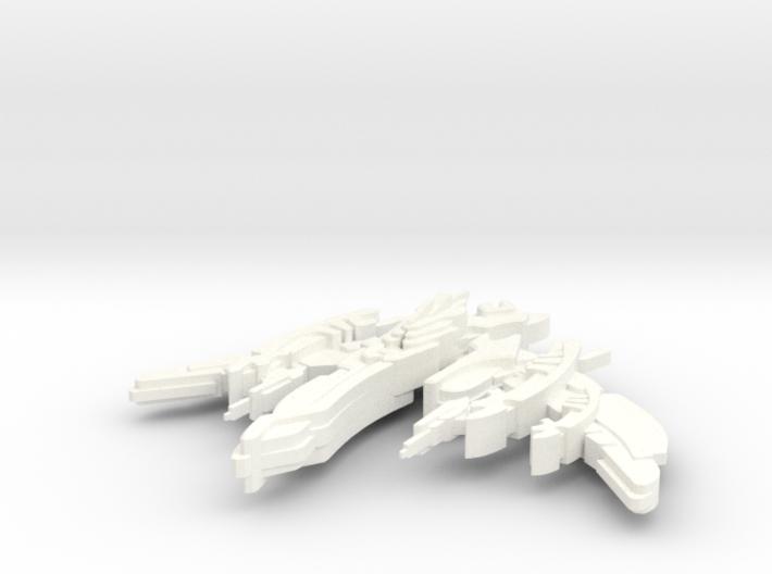 Breen Attack Vessel 3d printed