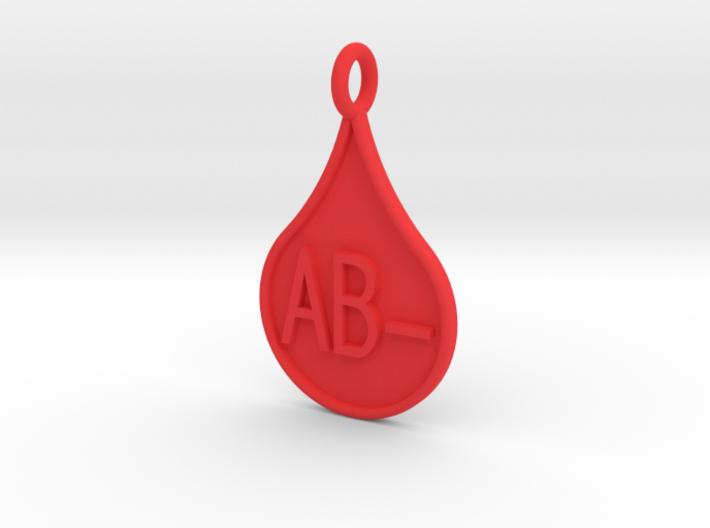Blood type AB- 3d printed