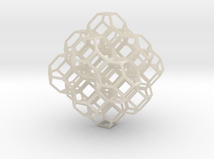 Truncated Octahedra 3d printed