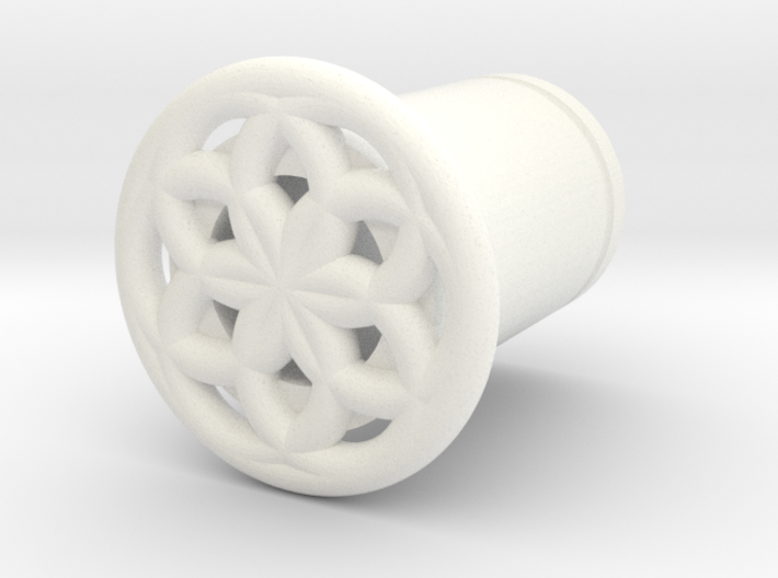 Seed Of Life plug 3d printed