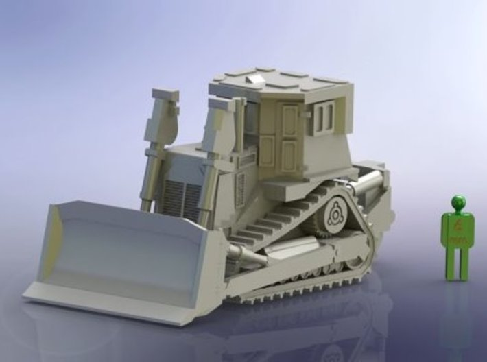 Armored Dozer Doobi 1/285 6mm 3d printed Add a caption...