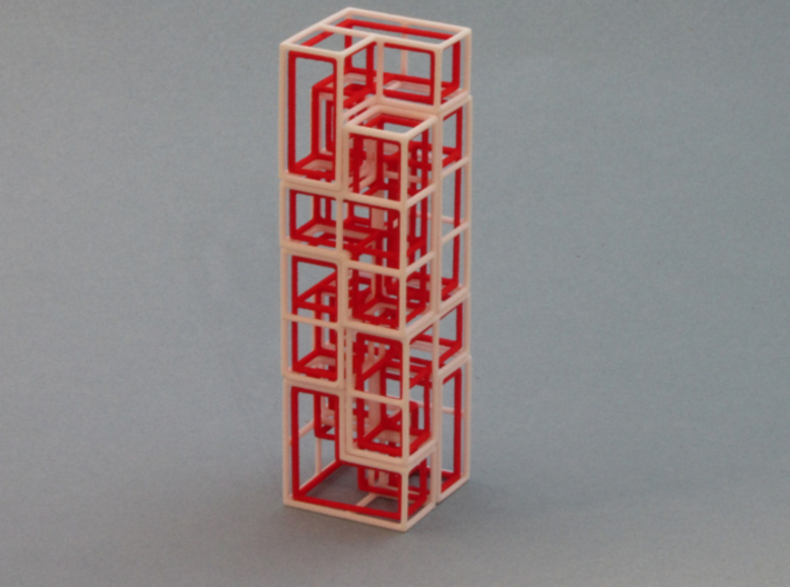 """""""SOMA's Revenge"""" - Inner Parts Only 3d printed The Tower - One of hundreds of figures to build"""