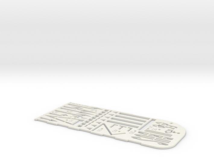 Fahrbahnmarkierungsschablone (N 1:160) 3d printed