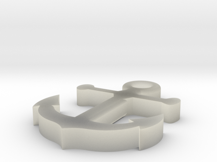 Anchor 3d printed Perfect to get a size and shape before you spend more on better material