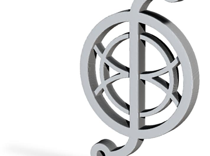 Shielding pendant - Turbine 3d printed