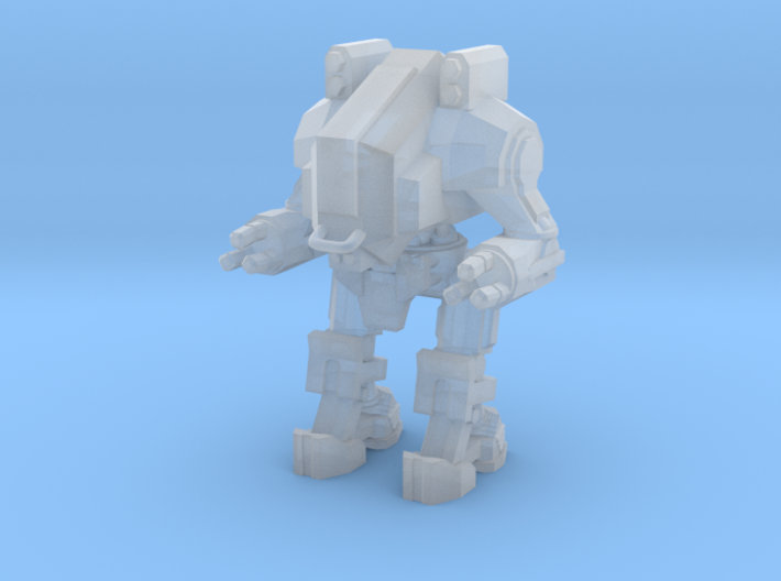 1/87 Scale Wofenstain Trooper 3d printed