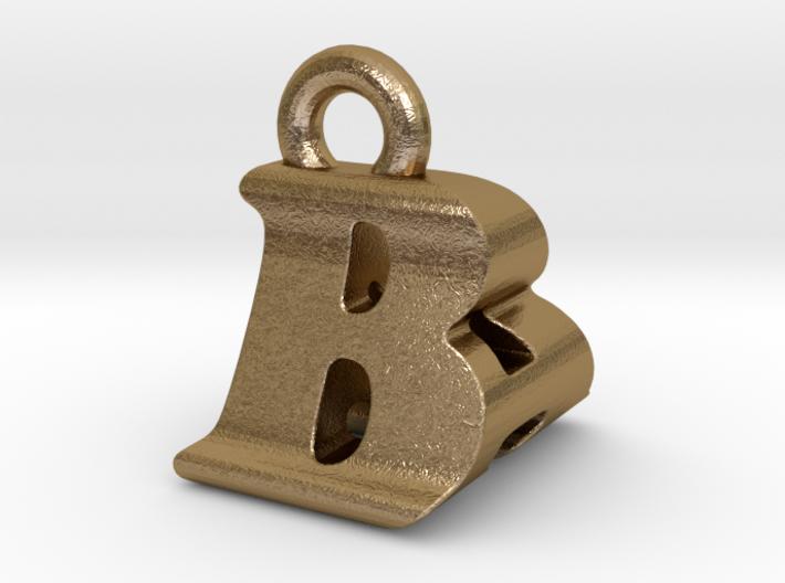 3D Monogram Pendant - BAF1 3d printed