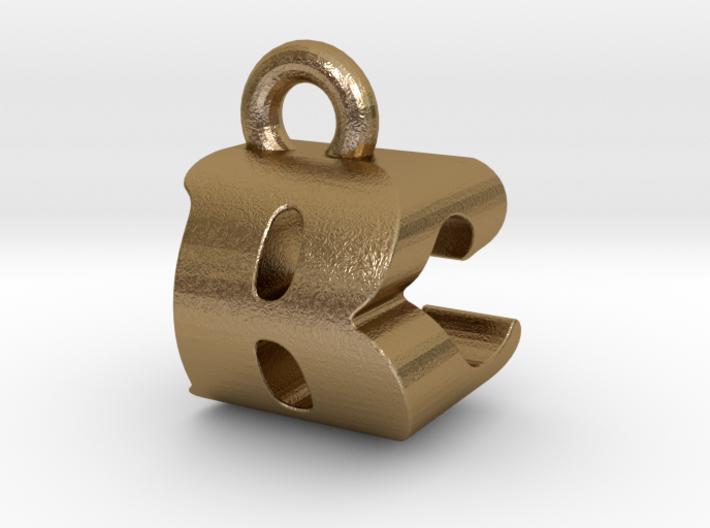 3D Monogram Pendant - BCF1 3d printed