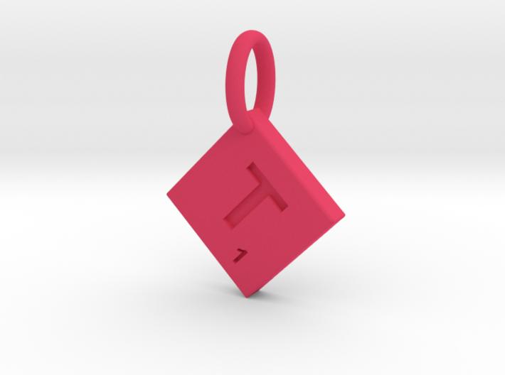 SCRABBLE TILE PENDANT T 3d printed