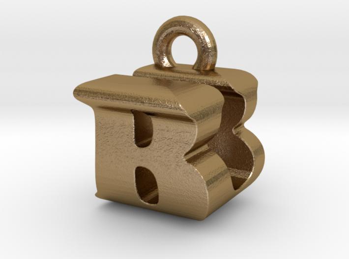 3D Monogram Pendant - BUF1 3d printed