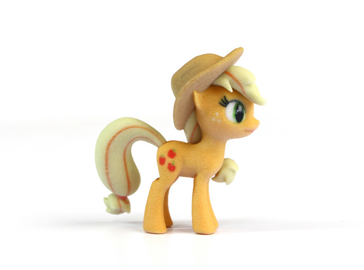 My Little Pony - AppleJack (≈67mm tall) 3d printed