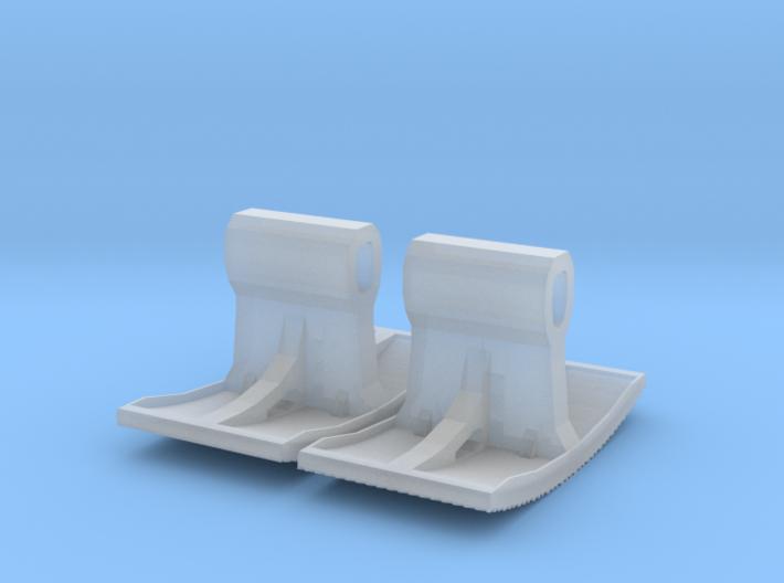 2x Pflasterklinker-Stempel 14mm (N 1:160) 3d printed