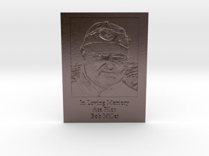 Bob Miller Memorial Embossed 3d printed