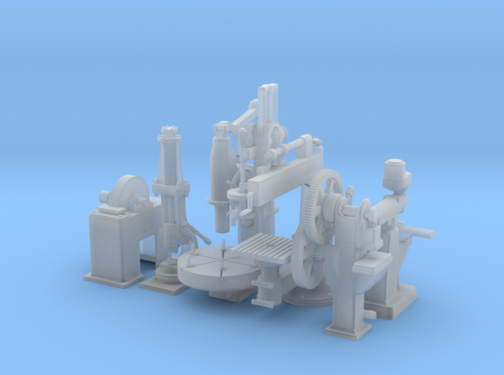Large Machiney S Scale 3d printed
