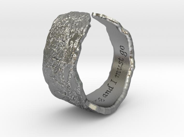 Sierras Ring 18.5mm 3d printed