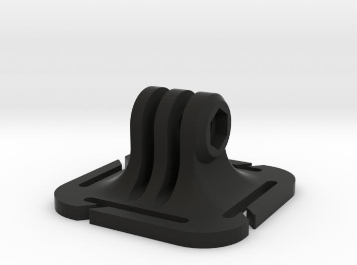 GoPro BackPack strap mount, Molle 3d printed