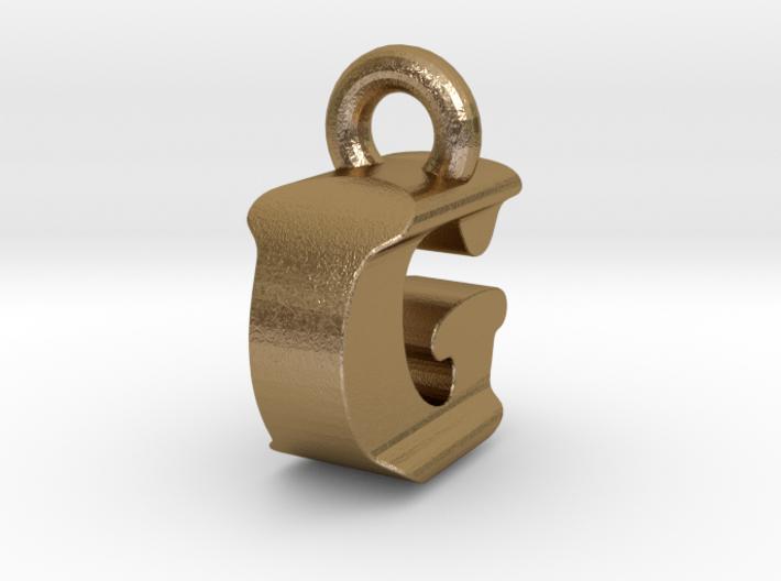 3D Monogram Pendant - IGF1 3d printed