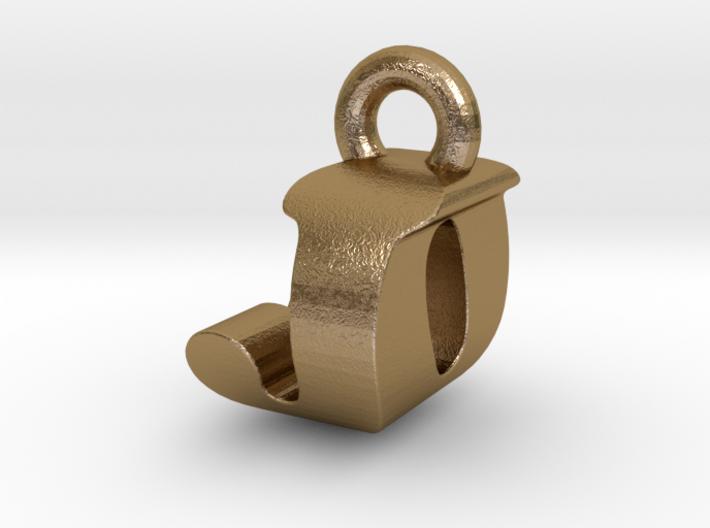 3D Monogram Pendant - JOF1 3d printed