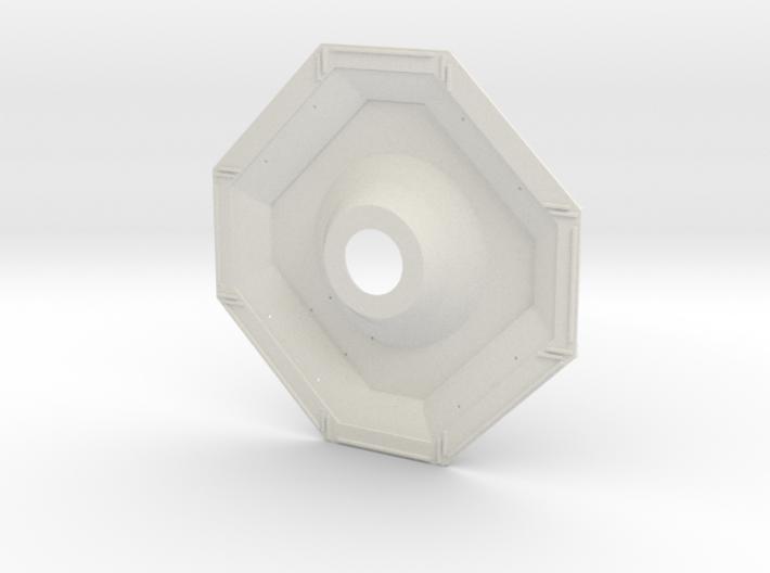 01-J Mission-Descent Stage Underside 3d printed