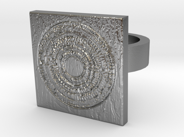 Dr Who The Pandorica Ring 2 3d printed