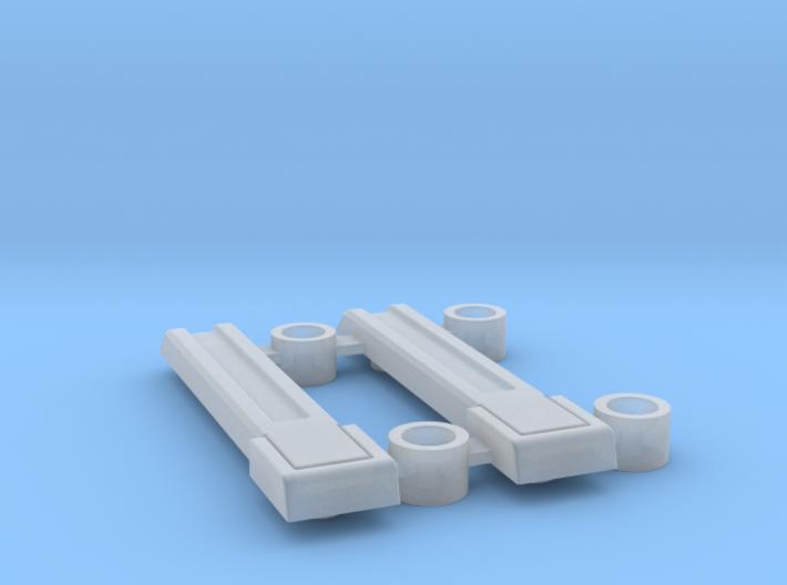 AJ10004 Rear Door Hinges (SCX10) 3d printed
