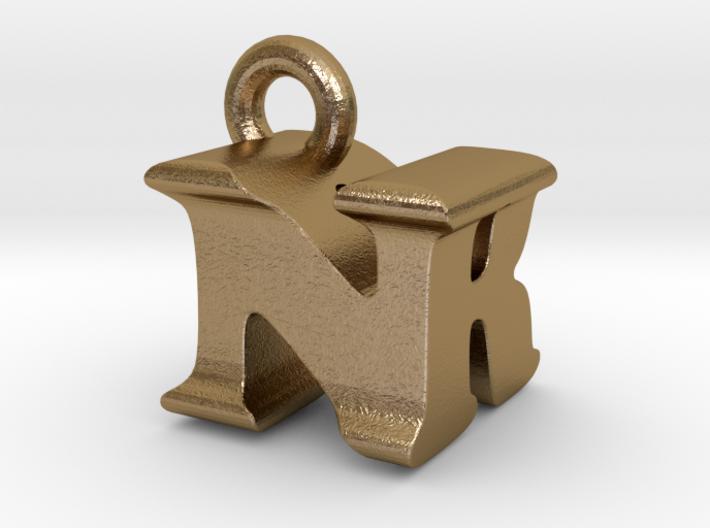 3D Monogram Pendant - NRF1 3d printed