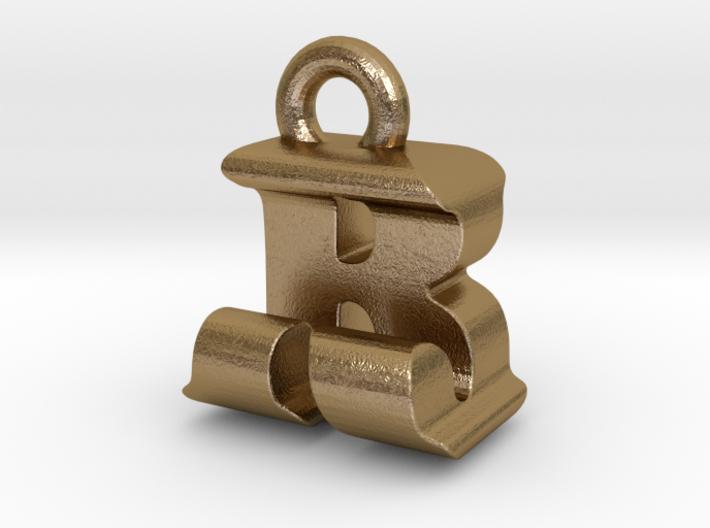 3D Monogram - RJF1 3d printed