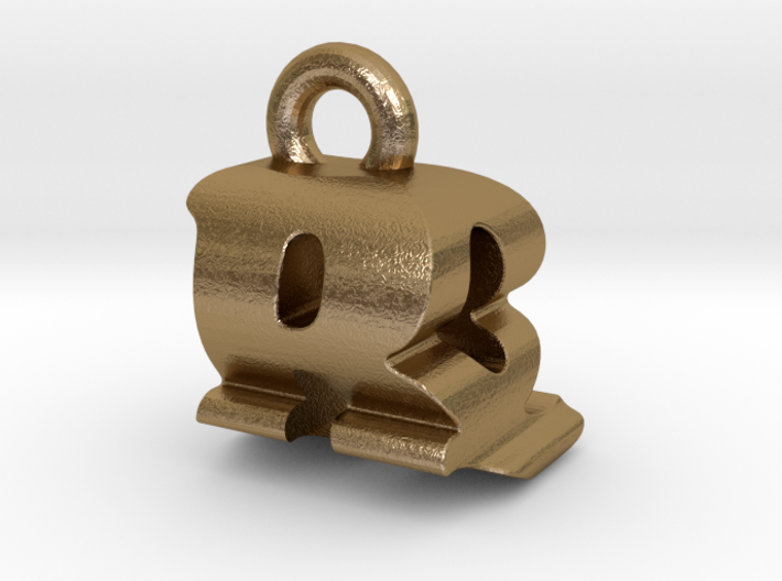 3D Monogram - RQF1 3d printed