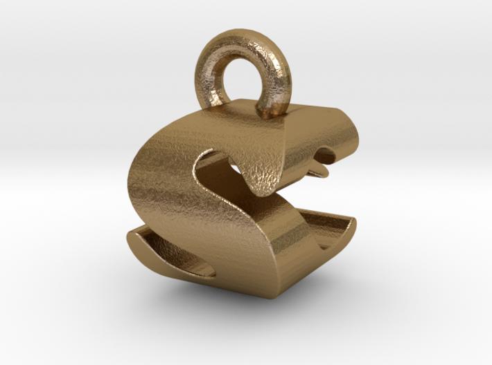 3D Monogram - SCF1 3d printed