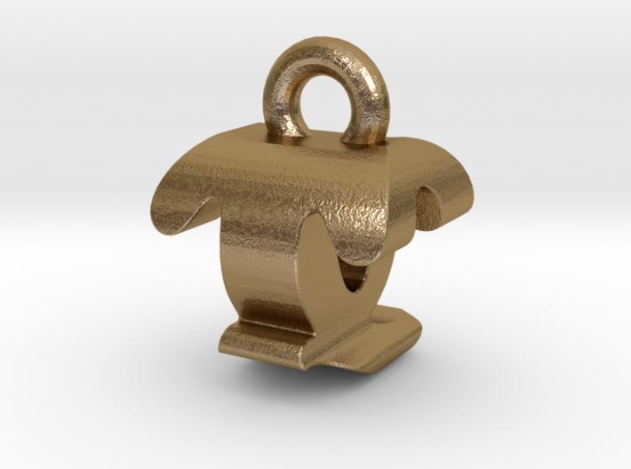 3D Monogram - TQF1 3d printed