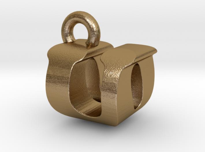 3D Monogram - UOF1 3d printed