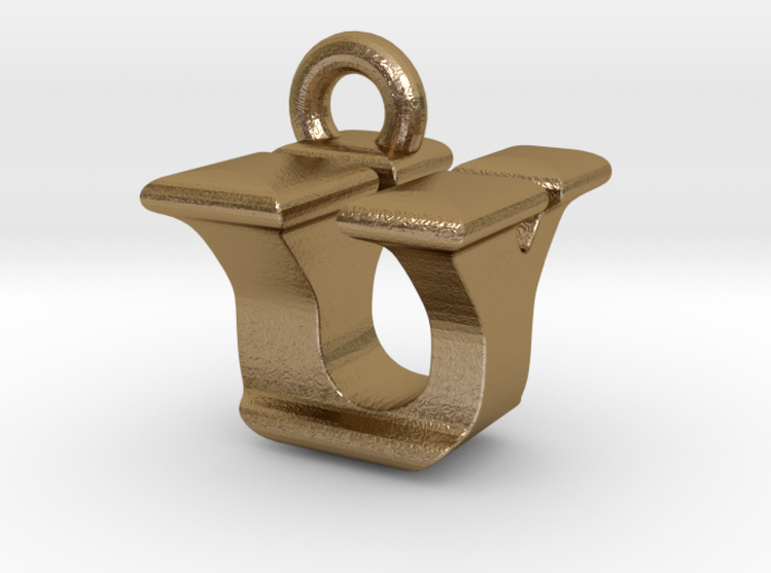 3D Monogram - UYF1 3d printed