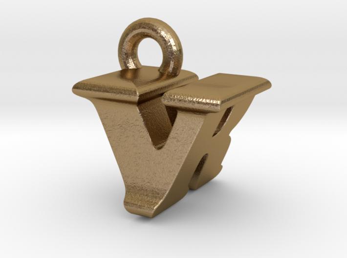 3D Monogram - VRF1 3d printed