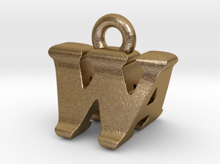 3D Monogram - WAF1 3d printed