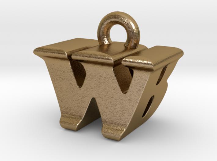 3D Monogram - WBF1 3d printed