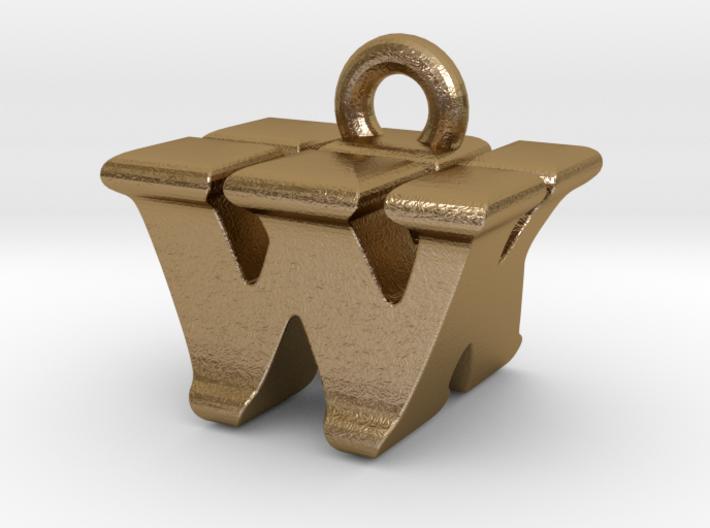 3D Monogram - WKF1 3d printed