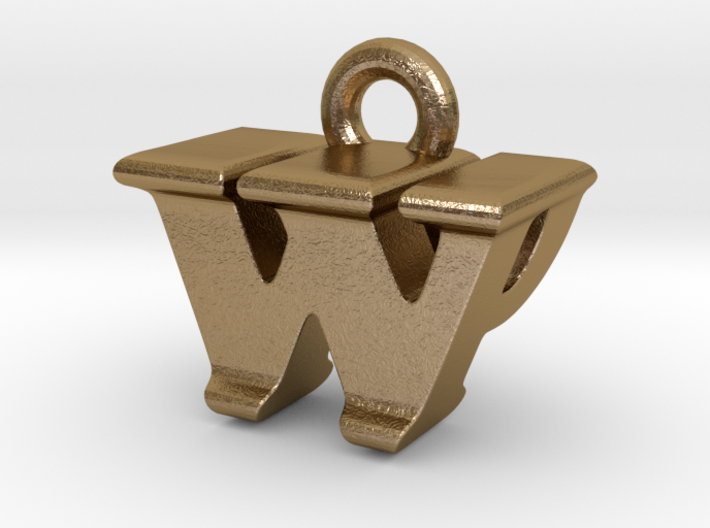 3D Monogram - WPF1 3d printed