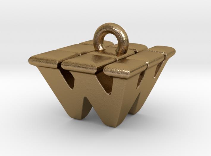 3D Monogram - WWF1 3d printed