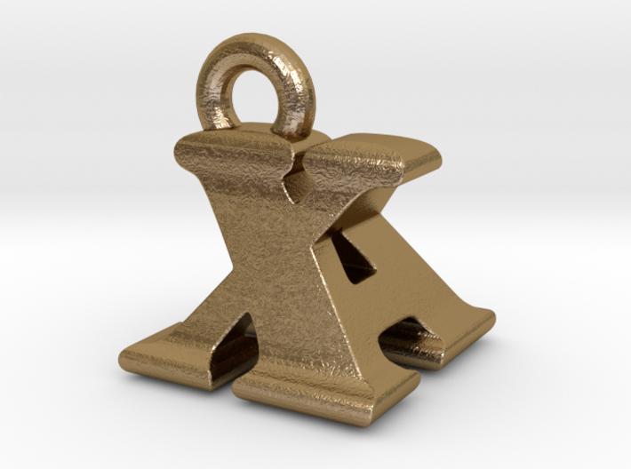 3D Monogram - XAF1 3d printed
