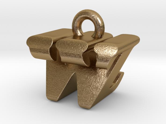 3D Monogram - WZF1 3d printed