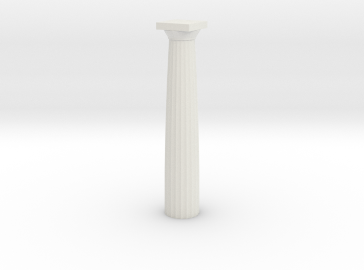 Doric Column No Base 12 Cm 3d printed