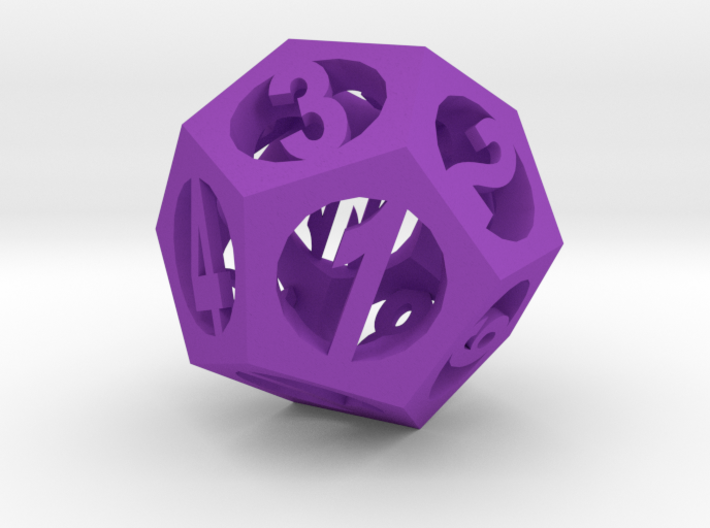 Pendant -dodecahedron2 3d printed