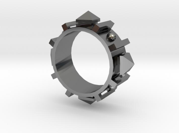 Edwardian Guard II Ring - Sz. 6 3d printed