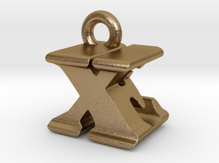 3D Monogram - XEF1 3d printed